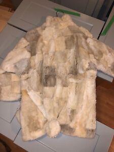 Child's sheared beaver fur coat