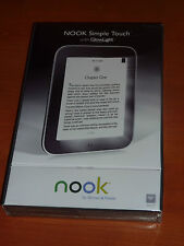 New Barnes & Noble NOOK Simple Touch with GlowLight 2GB, Wi-Fi, 6in