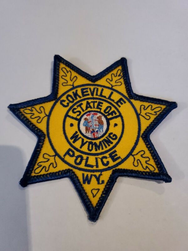 Cokeville Wyoming Police Patch