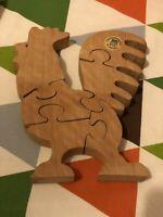 Holzpuzzle Hahn Puzzletier Handmade Baden-Württemberg - Esslingen Vorschau