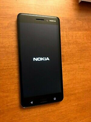 Nokia 6 - 32GB - Matte Black (Unlocked) Smartphone Excellent Condition