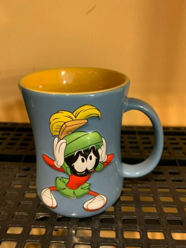 Marvin Martian 3D Mug Looney Tunes Xpres 2005 Where's The Kaboom Coffee Cup