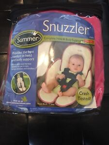 NEVER USED Jolly Jumper Car Seat Cover AND Snuzzler
