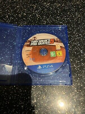 PlayStation 4 PS4 Game Tony Hawk's Pro Skater 5