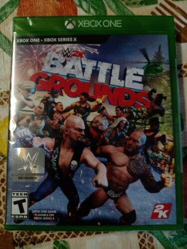 WWE 2K BATTLEGROUNDS XBOX ONE - $25.99