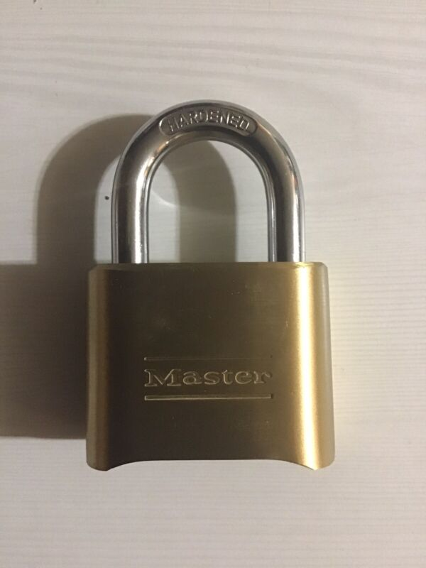 Master Lock Padlock, Set Your Own Combination Lock, 2 in. Wide, 175