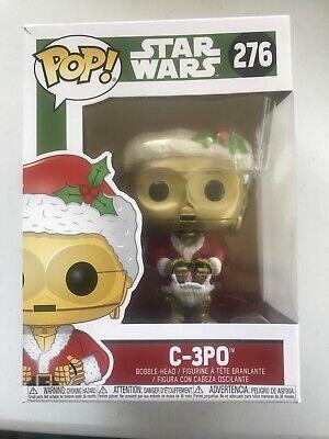 Funko Pop! Star Wars 276 Christmas C-3P0 Bobble Head Figurine