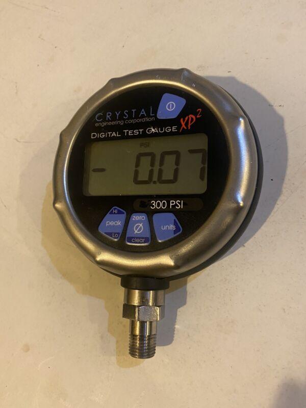 Ametek Crystal XP2i Digital Pressure Gague Calibrator 300PSI