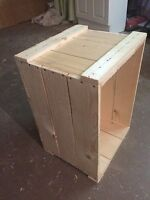 Wooden crates/apple boxes