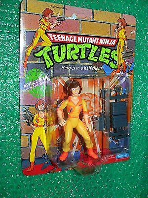 Teenage Mutant Ninja Turtle Names ( Teenage Mutant Ninja Turtles April O'Neil  c.1990 China name left of)