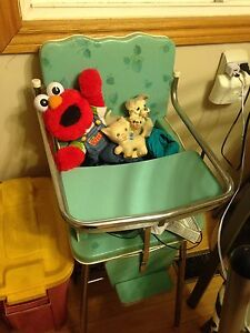 High chair 1950's