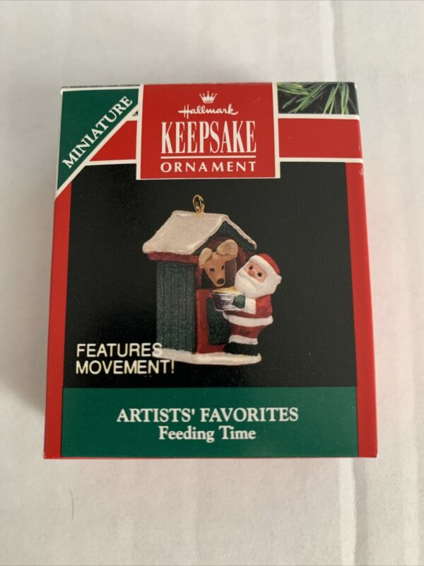 1992 Hallmark Miniature Ornament Artists