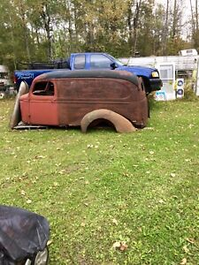 ISO parts for a 37-39 Chevy panel wagon