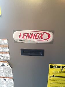OF23 Lennox Elite series low boy oil furnace