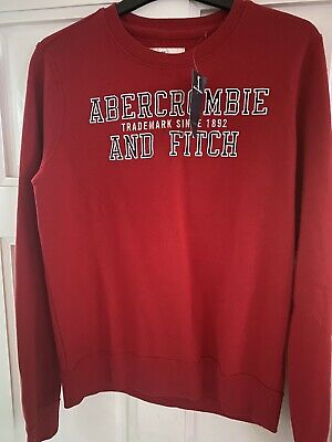 abercrombie and fitch Boys Sweatshirt 13/14 Years. New With Tags