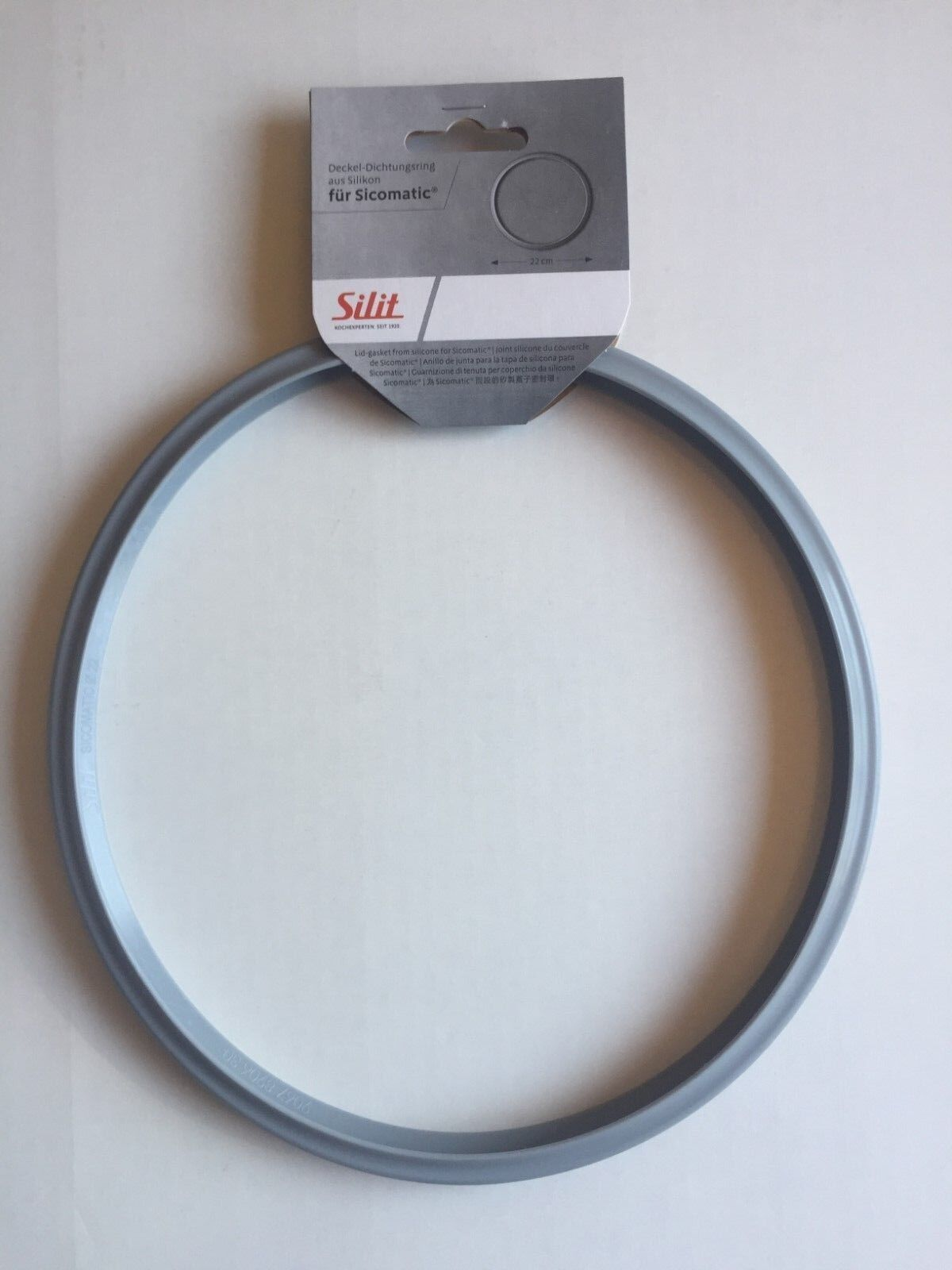 Silit Original Dichtungsring Ø 22 cm Sicomatic Schnellkochtopf - NEU - Silikon -