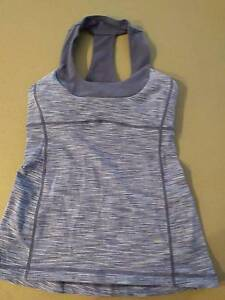 Lululemon yoga / running top size 4 Macquarie Belconnen Area Preview