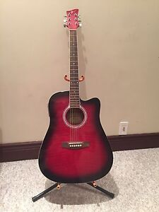Jay Acoustic Guitar w/ Tuner& line out.