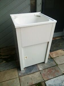 Laundry sink used