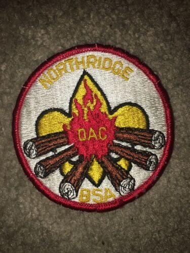 Boy Scout BSA Detroit Area Type 2 YEL Northridge District DP CP Council Patch