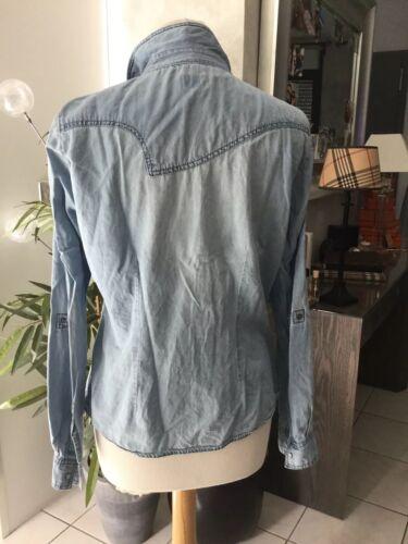 Chemise en jean only taille 40 bon etat