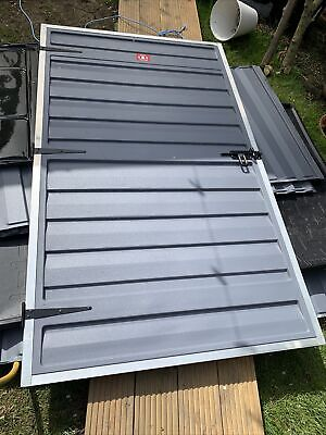 6x4 PALRAM SKYLIGHT PLASTIC GREY PENT SHED GARDEN STORE 4ft x 6ft POLYCARBONATE
