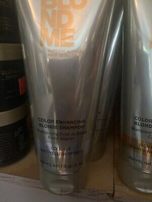 Schwarzkopf: Blondme 'Color Enhancing Blonde Shampoo' Cool-Ice Anti-Yellow 8.45 Blonde Color Enhancing Shampoo