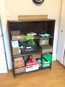 Online yard sale - Large solid wood bookcase