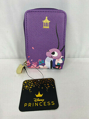 Loungefly Disney Mulan Cri-Kee (Crickee) Card Holder Accordion Wallet NEW