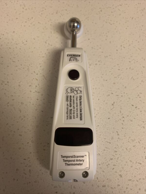 Exergen TAT 5000 Professional Temporal Thermometer. Amazing Condition!