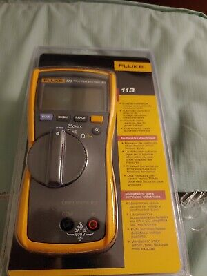 Fluke 113 Multimeter Digital Compact Trms Voltage Continuity Display Retroil