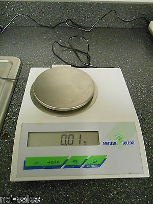 Mettler Toledo Bd202 200g X 0.01g Digital Scale With 4 Platform Power Adapter