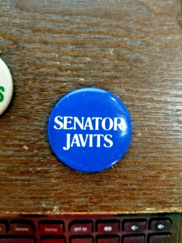 Vintage - Senator Javits Pin