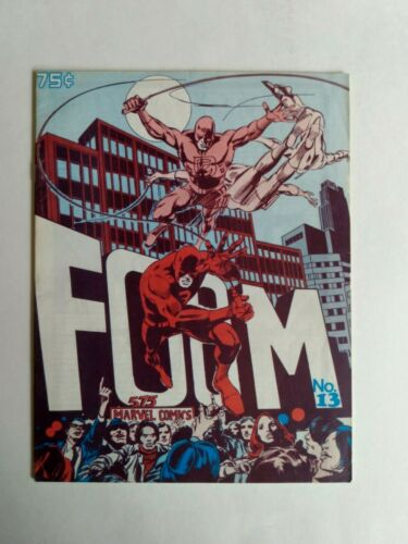 FOOM #13 MARVEL COMICS 1976 DAREDEVIL COVER STAN LEE PUBLISHER