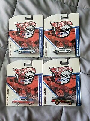 Hot Wheels Vintage Racing Lot 4 Plymouth ford dodge real riders super rare VHTF