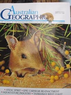 Australian Geographic magazines