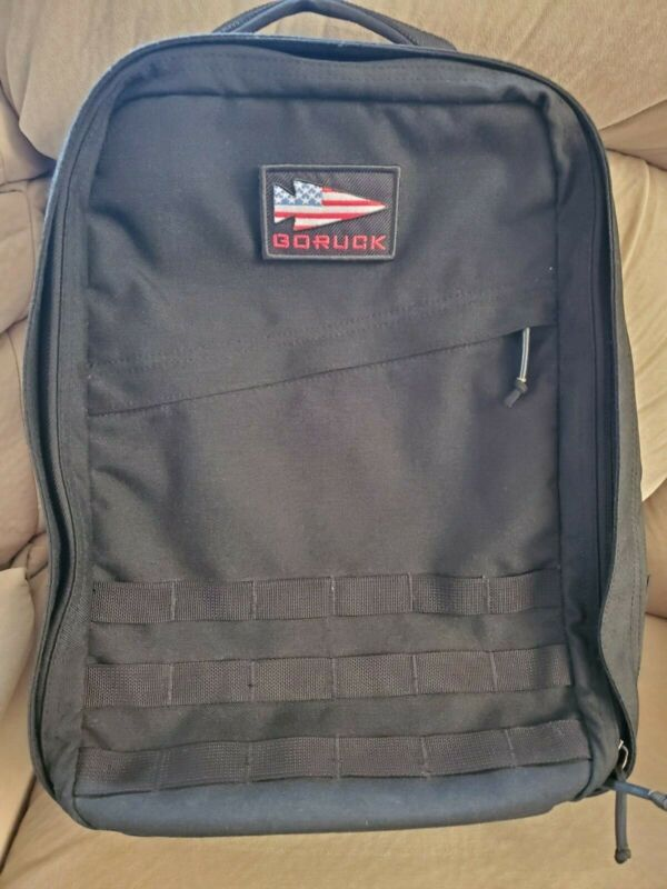 GORUCK GR1 - 21L, Made In The USA includes sternum strap, patch, and stickers