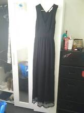 Long black evening dress 10 Cronulla Sutherland Area Preview