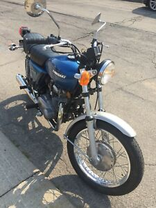 Classic 1977 Kawasaki Motorcycle
