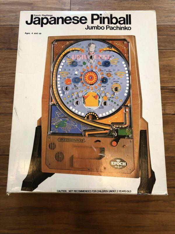 Vintage 1973 Pachinko Game Japanese Arcade Pinball