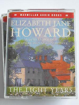 The Light Years - Elizabeth Jane Howard - Audiobook Cassettes, Used Very Good
