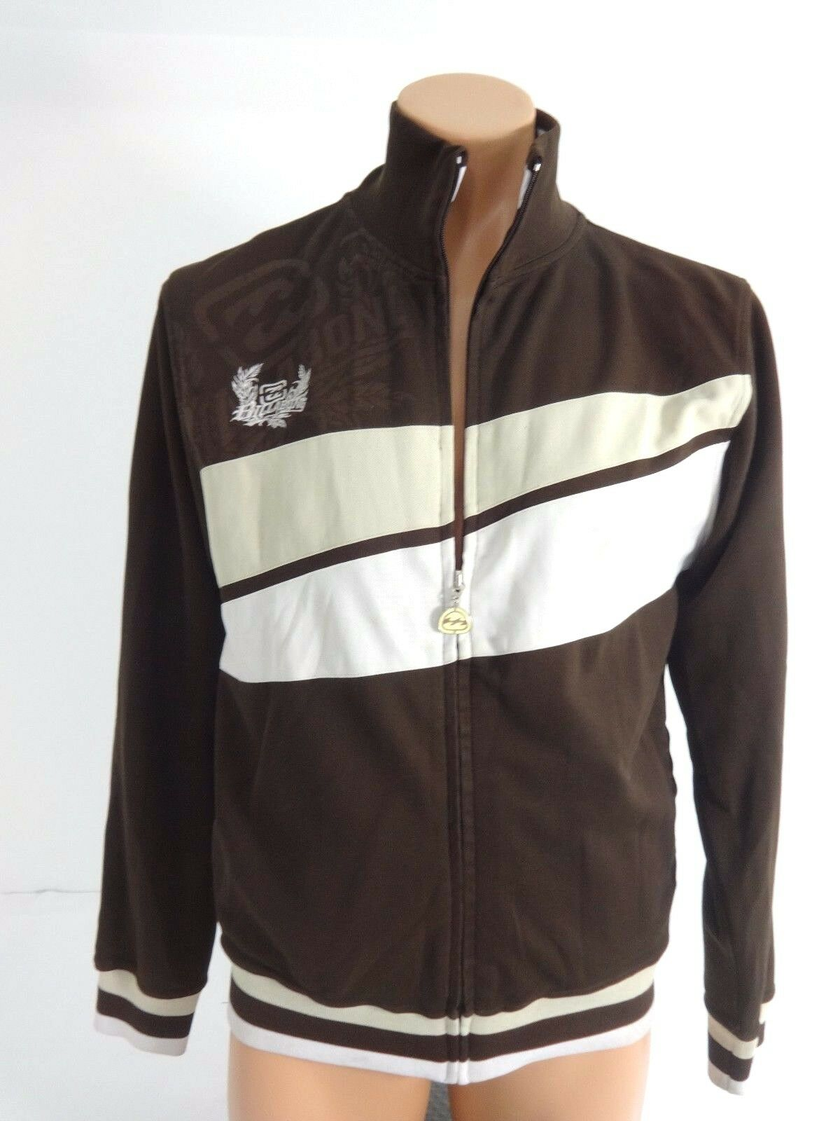 Gear For Sport Womens Full Zip Brown Jacket Size M