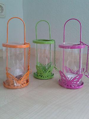 cht Deko Laternen grün rosa orange Tischdeko auch zum hängen (Orange Laternen)