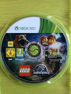Lego Jurassic World Xbox 360 (Disc Only)