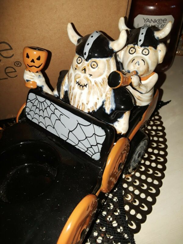 Yankee Candle Boney Bunch Coffin Party Crashers Tealight Holder