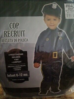Baby Cop Costume for Infants, 6-12 Months, with Accessories #20