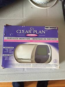 Clear plan fertility monitor