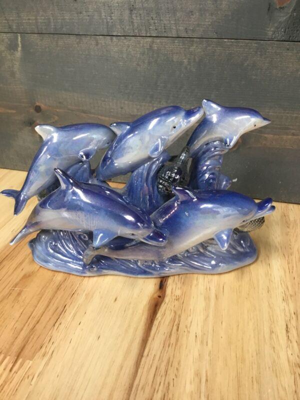 Dolphin Ceramic Figurine