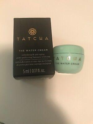 - TATCHA The Water Cream ANTI AGING MOISTURIZER .17 Oz NEW BOXED