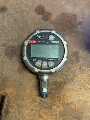Crystal Xp2i Series Pressure Gauge 15000 Psi